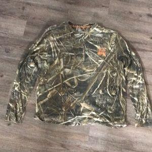 Realtree max 5 camo long sleeve shirt